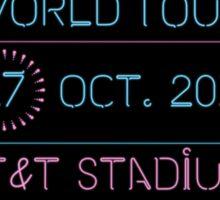 17th October - AT&T Stadium Sticker