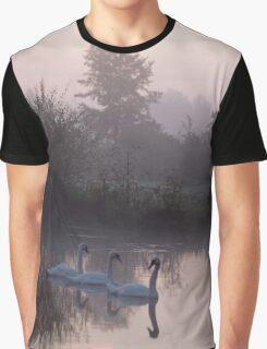 Three swans Graphic T-Shirt
