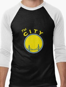 Golden_State_Warriors_Retro Men's Baseball ¾ T-Shirt