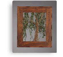 Summer Willow Tree - Dark Canvas Print