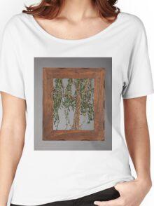 Summer Willow Tree - Dark Women's Relaxed Fit T-Shirt