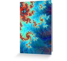Feathering Winds Greeting Card