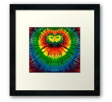 Tie-Dye Shirt and Merchandise Framed Print