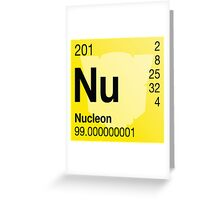 Transformers Periodic - Nucleon Greeting Card