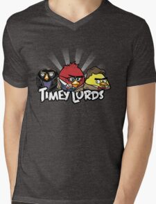 Timey Lords Mens V-Neck T-Shirt