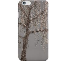 Winter Willow Tree - Dark iPhone Case/Skin