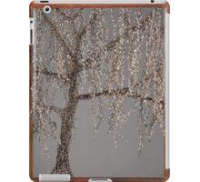 Winter Willow Tree - Dark iPad Case/Skin