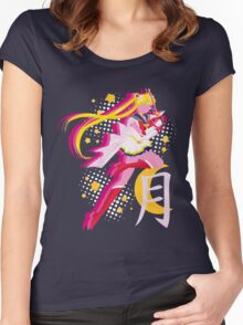 Soldier of Love and Justice Women's Fitted Scoop T-Shirt