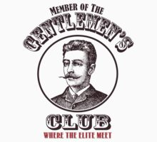 The Gentlemen's Club. Where the Elite Meet. Baby Tee