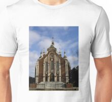 Ukrainian church in Hamilton, Ontario, Canada.  Unisex T-Shirt