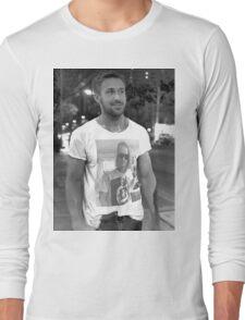 Ryan Gosling Macaulay Culkin Shirt Long Sleeve T-Shirt