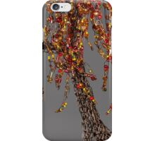 Autumn Willow Tree - Dark iPhone Case/Skin