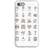 Craft Beer Icons iPhone Case/Skin