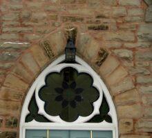 Old church of Milton, Ontario, Canada  Sticker