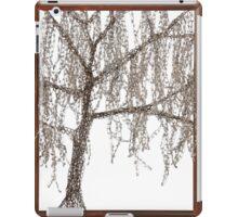Winter willow tree iPad Case/Skin