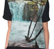 Plitvice Waterfalls Chiffon Top