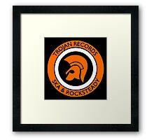TROJAN RECORDS : SKA & ROCKSTEADY Framed Print