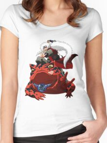 Master of Frog Women's Fitted Scoop T-Shirt