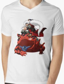 Master of Frog Mens V-Neck T-Shirt