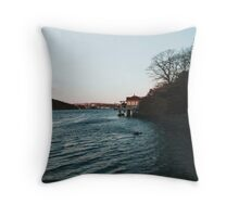 Northwest Arm Throw Pillow