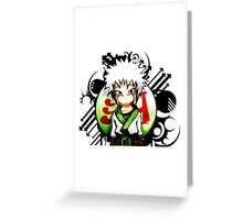 Sennin Greeting Card