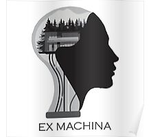 Ex Machina Head Merch Shirt Poster