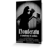 Nomferatu Greeting Card