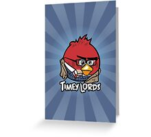 Timey Lords - The Tenth Greeting Card