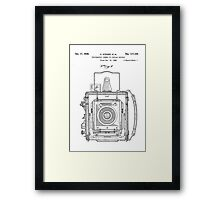 Graflex/Graphic Large Format Press Camera Patent Design/Drawing Framed Print