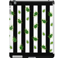 Beetlejuice Pattern in Bugs iPad Case/Skin