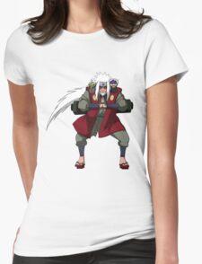Sage Sennin Mode Womens Fitted T-Shirt