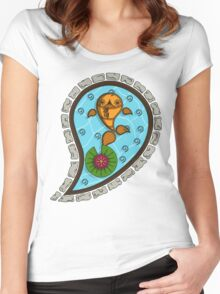 Scales the Goldfish Women's Fitted Scoop T-Shirt