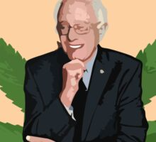 Legalize Marijuana Now, Bernie! Sticker