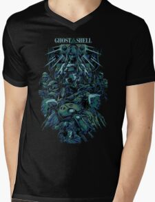 Ghost in the Shell by remi42 Mens V-Neck T-Shirt