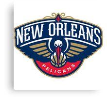 New Orleans Pelicans Canvas Print