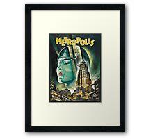 Metropolis 1927 - Movie Poster Framed Print