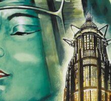 Metropolis 1927 - Movie Poster Sticker