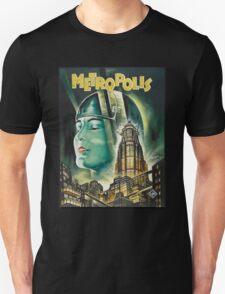 Metropolis 1927 - Movie Poster Unisex T-Shirt