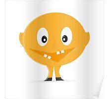 Yellow Mascot  Poster