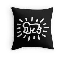 "Baby Pop Art "" Keith Haring"" Throw Pillow"