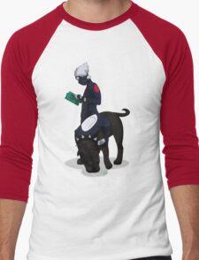 Kuciyose Men's Baseball ¾ T-Shirt