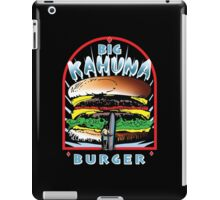 Big KAHUNA Burger - Reverse Dark Variant iPad Case/Skin