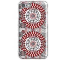 Concentric Collage iPhone Case/Skin