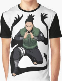 Shikamaru Graphic T-Shirt