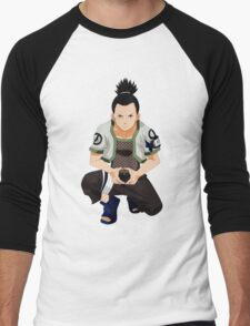 Shikamaru Men's Baseball ¾ T-Shirt