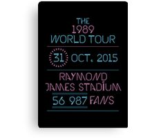 31st October - Raymond James Stadium Canvas Print