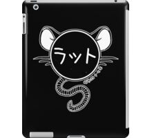 Year Of The Rat - 1972 - White iPad Case/Skin
