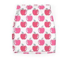 Cutesy Pink Apple Pattern Mini Skirt