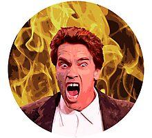 Angry Arnold Photographic Print