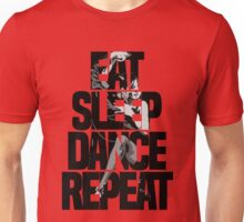 Dance - Eat sleep dance repeat Unisex T-Shirt